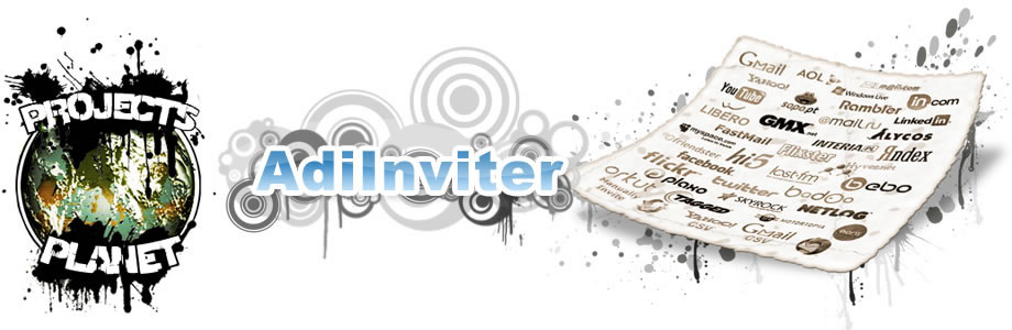 AdiInviter Contacts Importer/Inviter Banner